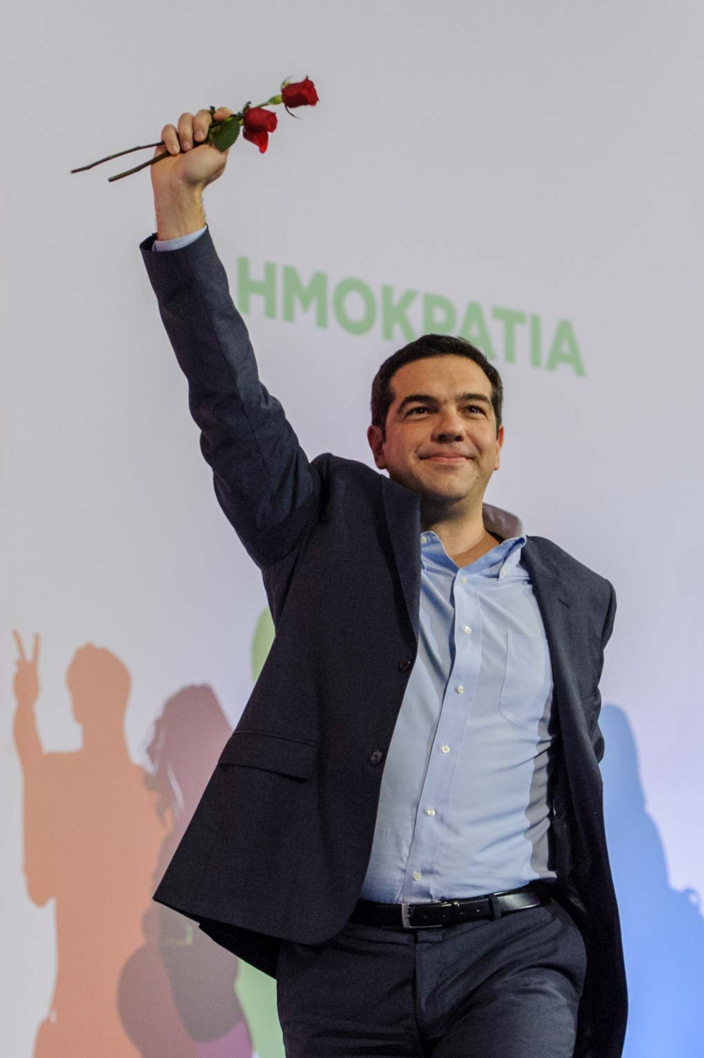 Alexis Tsipras, top candidate of the Greek left party SYRIZA (Thessaloniki, 2015). Photo © Aris Fotografie
