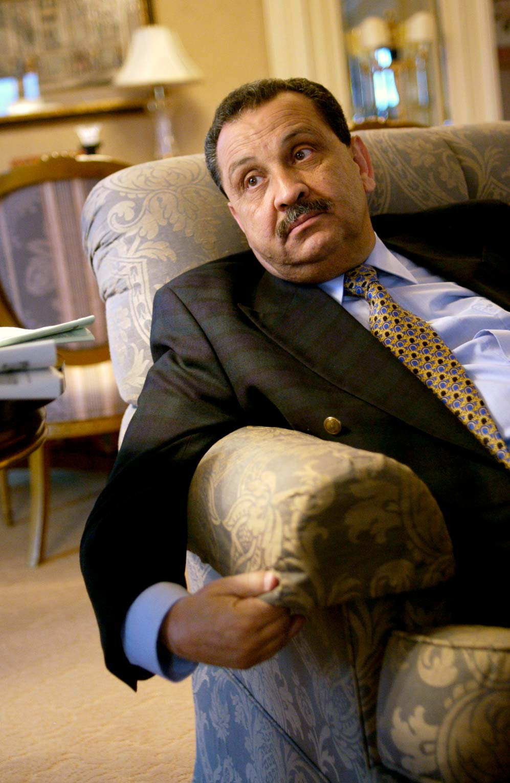 Shokri Ghanem, Prime Minister of Libya (Berlin, 2004). Photo © Aris Fotografie