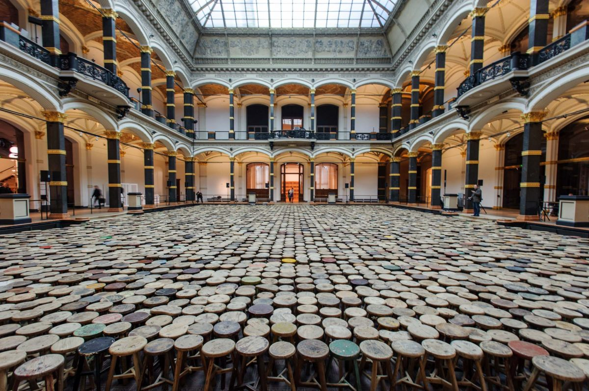*Ai Weiwei Evidence*, an exhibition of Ai Weiwei in the Martin-Gropius-Bau (Berlin, 2014). Photo © Aris Fotografie
