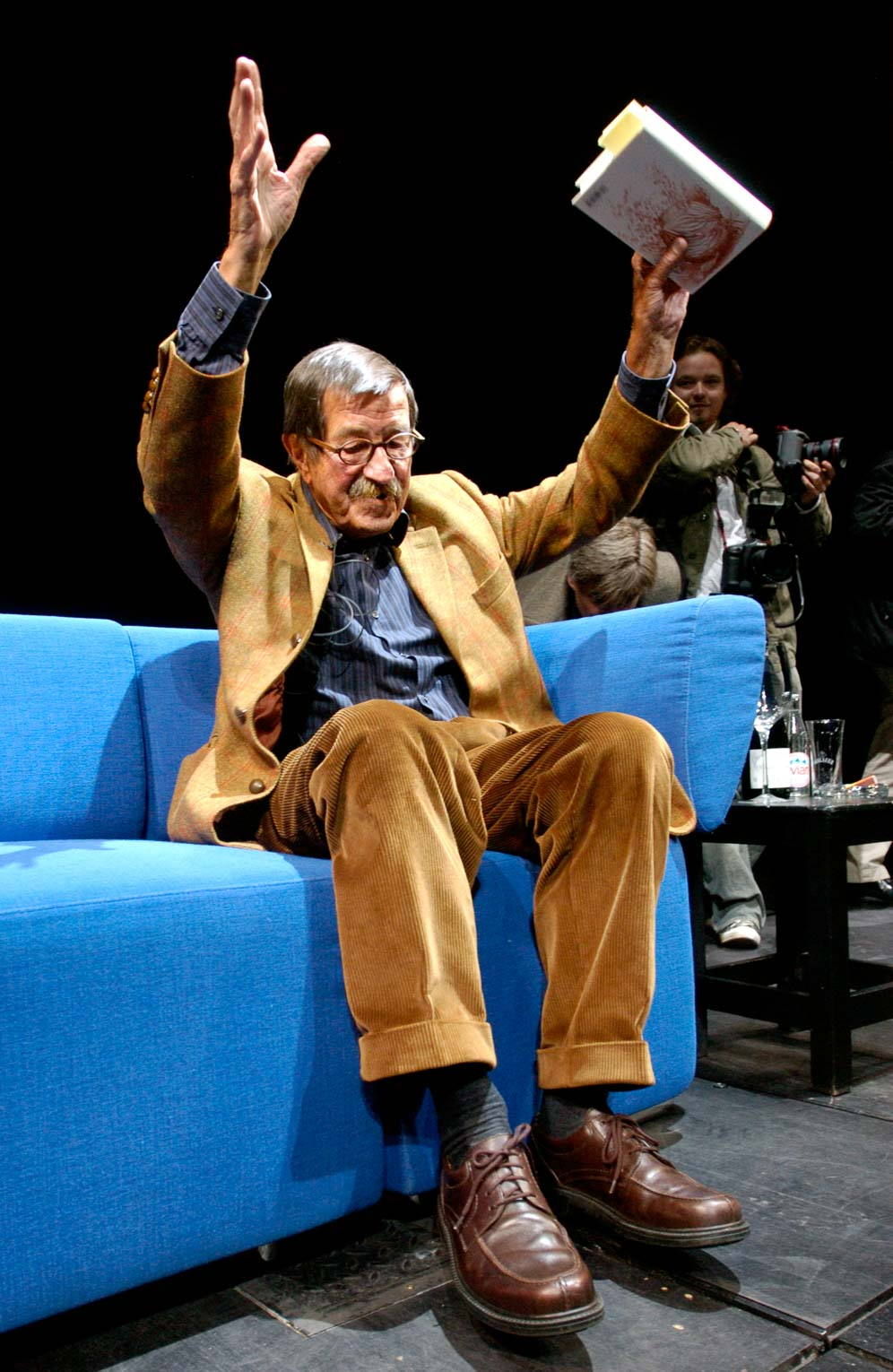 Günter Grass, Germany, recipient of the 1999 Nobel Prize in Literature (Berlin, 2006). Photo © Aris Fotografie