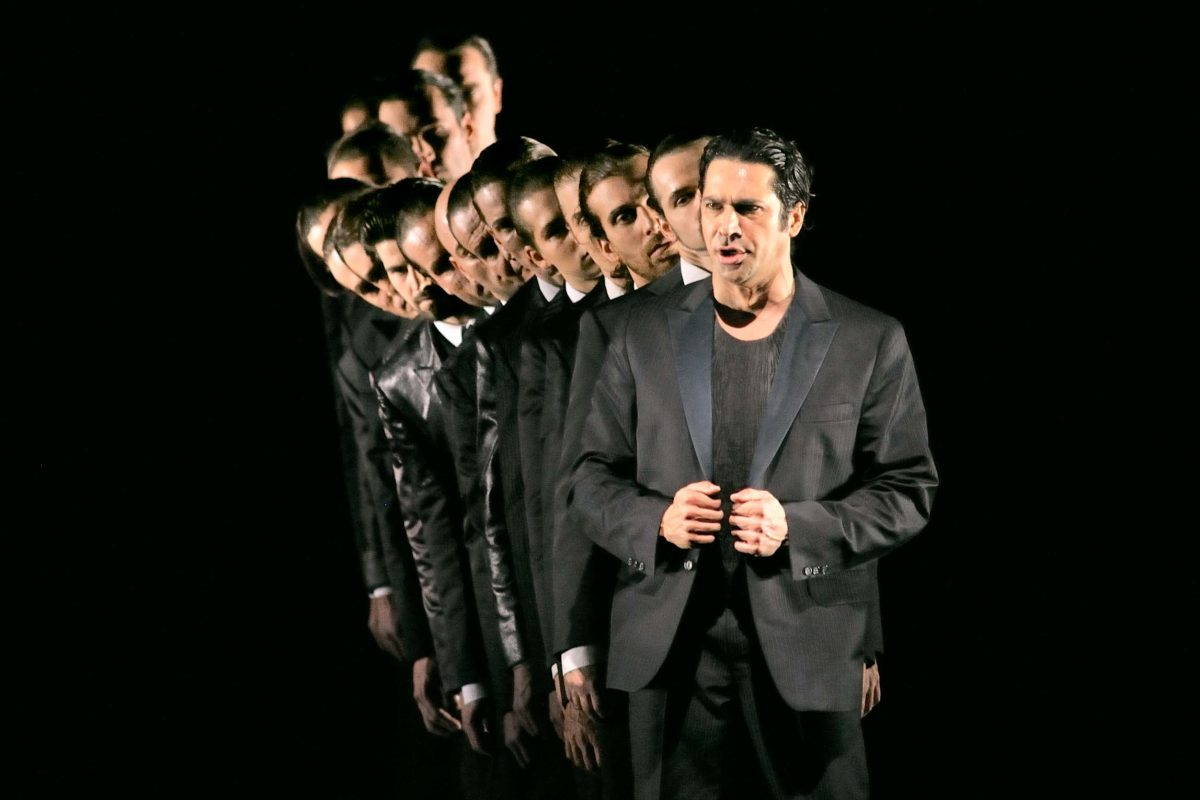 Baritone Ildebrando D'Arcangelo in the opera *Don Giovanni*, director Roland Schwab (Berlin, 2010). Photo © Aris Fotografie