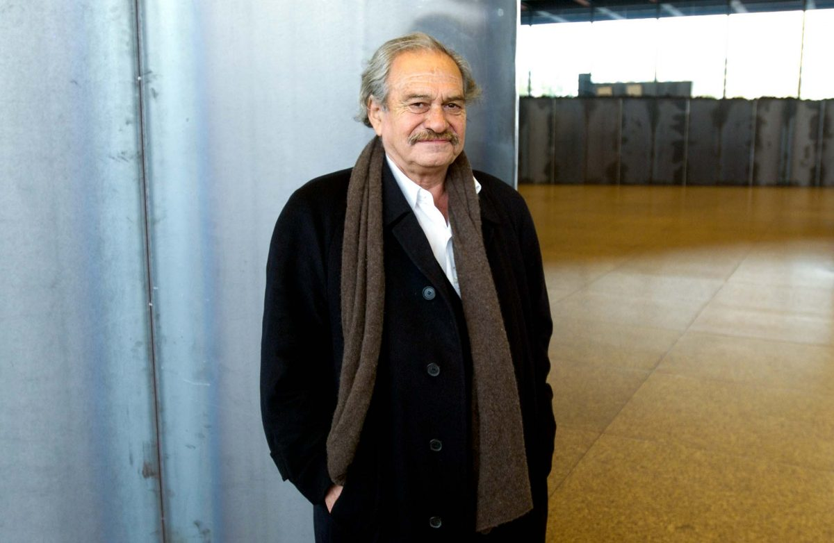 Jannis Kounellis, a Greek contemporary artist (Berlin, 2007). Photo © Aris Fotografie