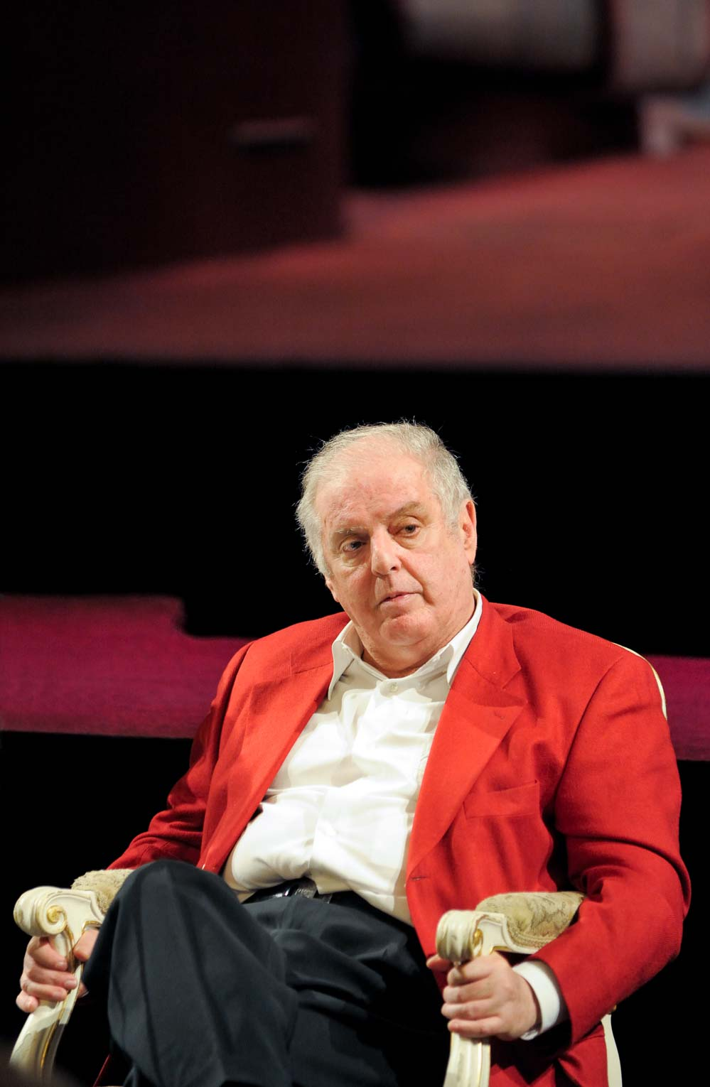 Daniel Barenboim, an Argentinian-Israeli pianist and conductor (Berlin, 2009). Photo © Aris Fotografie