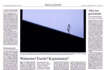 """""""The Wild Duck"""", play, Frankfurter Allgemeine Zeitung 04.02.2008"""