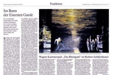 """""""Das Rheingold"""", Opera, Frankfurter Allgemeine Zeitung 21.10.2010"""