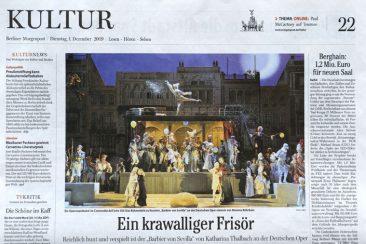 """The barber of Seville"", opera, Berliner Morgenpost 01.12.2009"