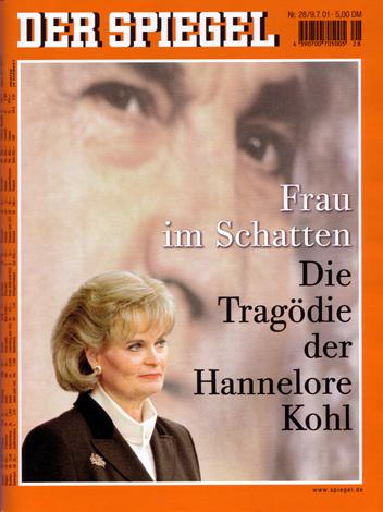 Hannelore Kohl, DER SPIEGEL 28/2001