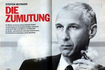 Steffen Heitmann, stern 39/1993