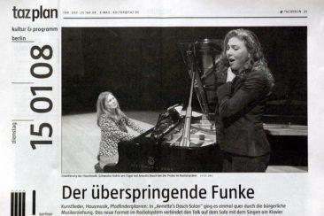 Annette Dasch, Soprano, taz 15.01.2008